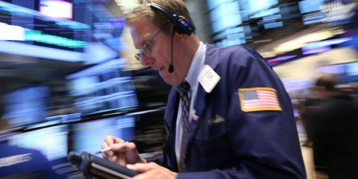Rentevrees drukt techsector op Wall Street, Dow op nieuw record