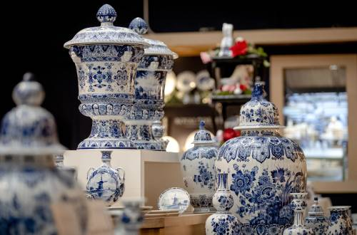 Wegblijven toerist raakt maker Delfts blauw
