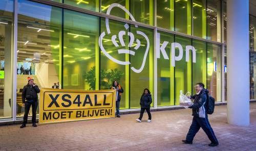 KPN stopt hostingactiviteiten XS4ALL